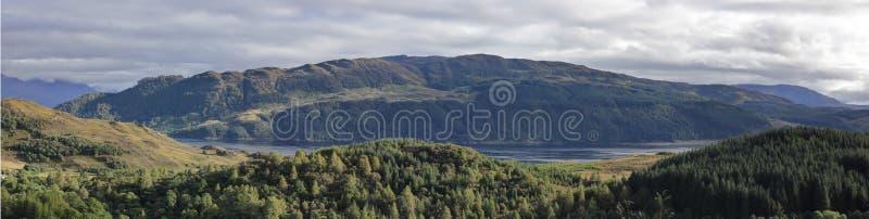 Glen Coe, montagne, Ecosse, R-U images libres de droits