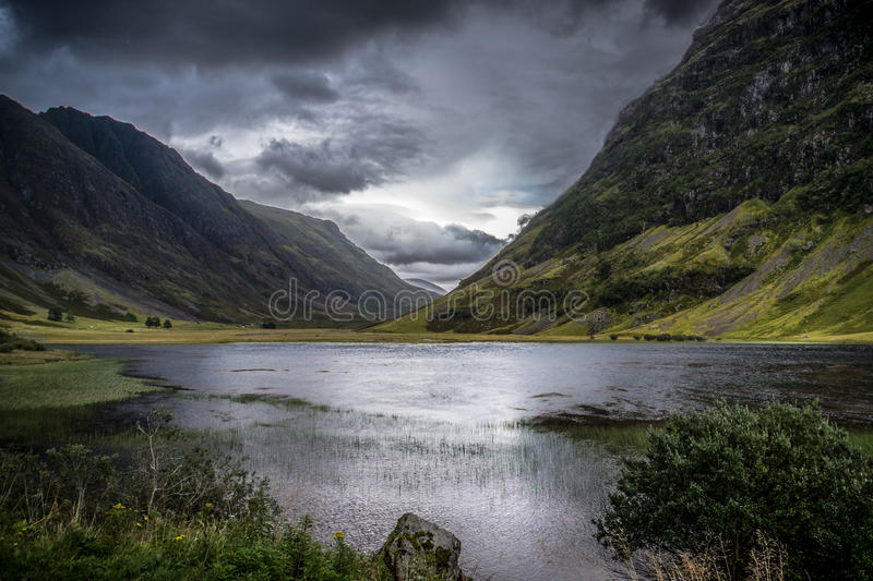 Glen Coe, Scotland. stock images