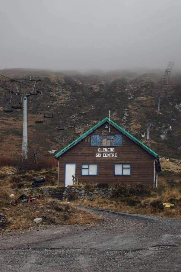 Glen Coe ski resort. stock image