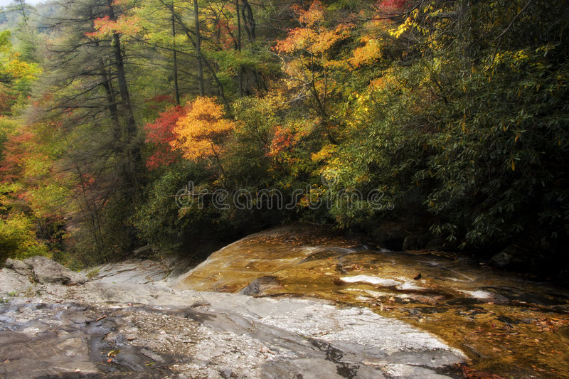 Glen Falls in Highlands royalty free stock images