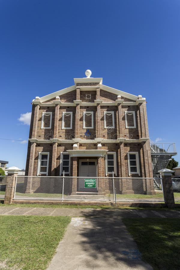 Glen Innes Masonic Lodge No 44 photographie stock