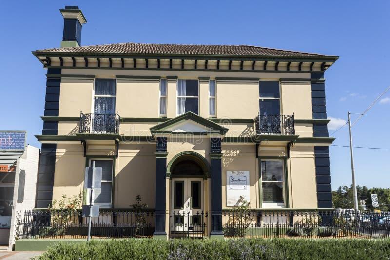 Glen Innes Old Buildings al final del siglo imágenes de archivo libres de regalías