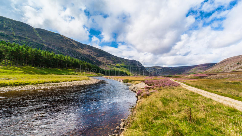 Glen Mark and River Mark UK Scotland stock photos