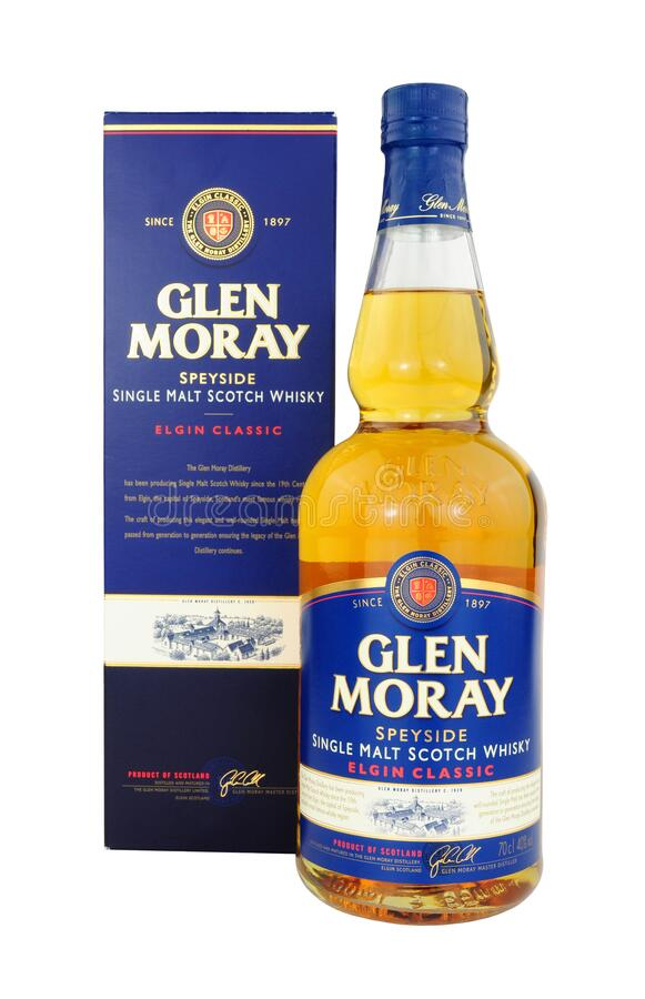 Glen Moray Whisky stockfoto