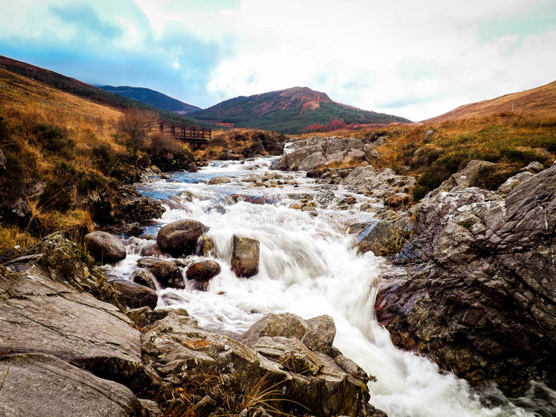 Glen Sannox Isle Of Arran fotografia stock