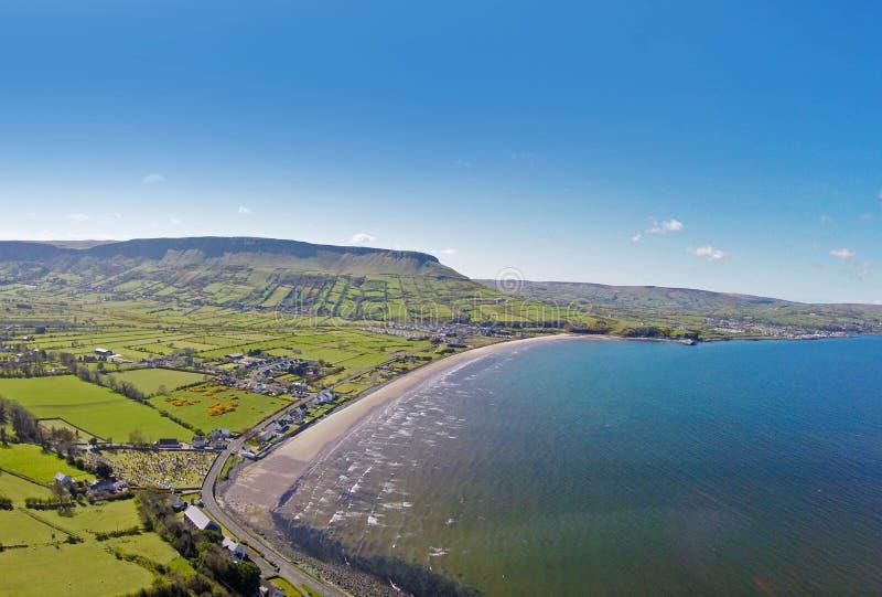 Glenariff Glenariffe Waterfoot Co.Antrim Northern Ireland. Ireland Dunluce Castle Co. Antrim Northern Ireland n.i. rathlin island gles of antrim green glens stock photo