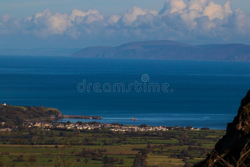 Glenariff is a valley of County Antrim, Northern Ireland. royalty free stock photos