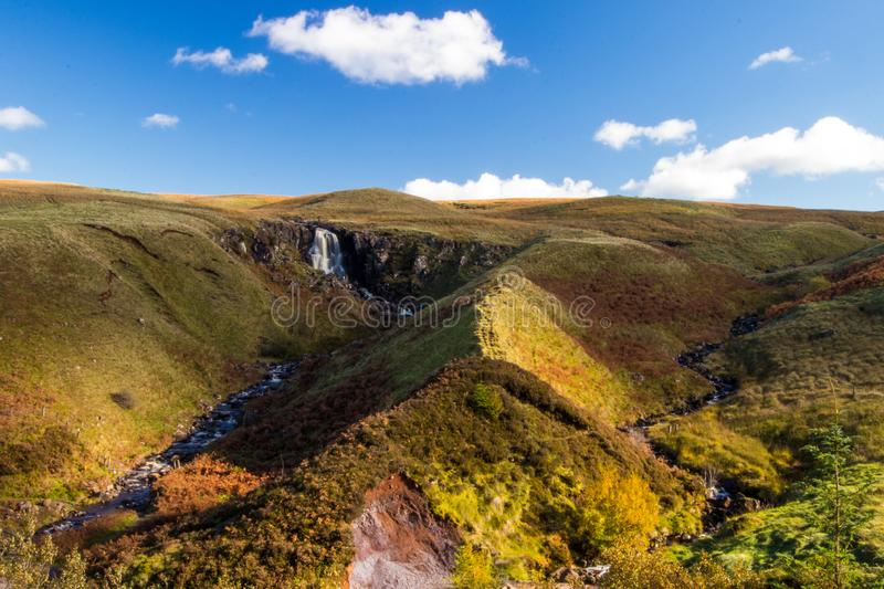Glenariff is a valley of County Antrim, Northern Ireland. royalty free stock images