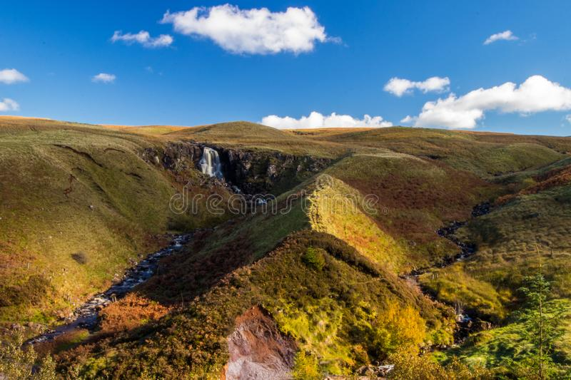 Glenariff is a valley of County Antrim, Northern Ireland royalty free stock photos