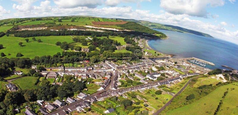 Glenarm Co.Antrim Northern Ireland. Glenariff Glenariffe Waterfoot Co.Antrim Northern Ireland ireland Dunluce Castle Co. Antrim Northern Ireland n.i. rathlin stock photos