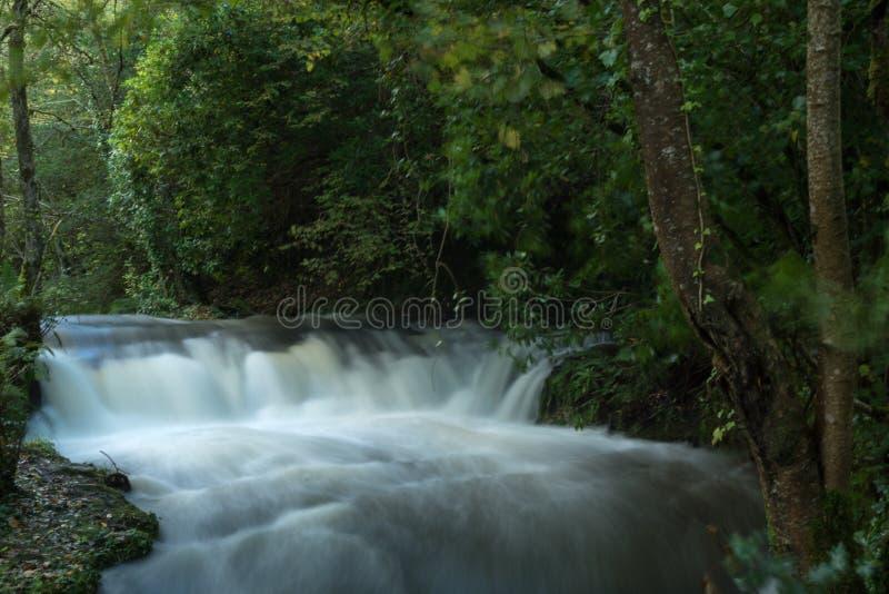 Glencar-Wasserfall, Grafschaft Leitrim, Irland lizenzfreies stockbild