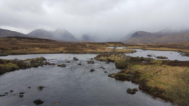 Glencoe de Escocia Reino Unido foto de archivo libre de regalías