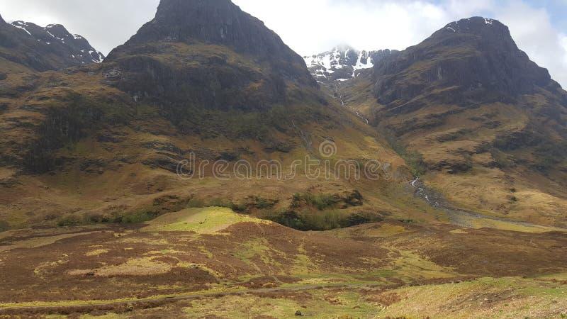 Glencoe de Escocia Reino Unido fotografía de archivo