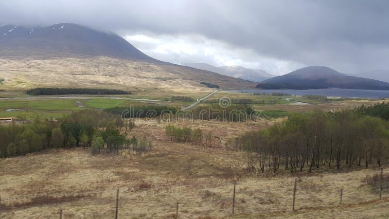 Glencoe de Escocia Reino Unido fotos de archivo libres de regalías