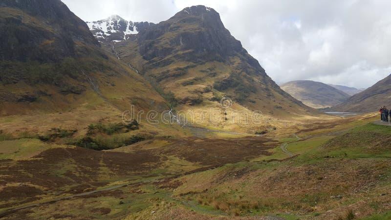 Glencoe de Escocia Reino Unido fotos de archivo
