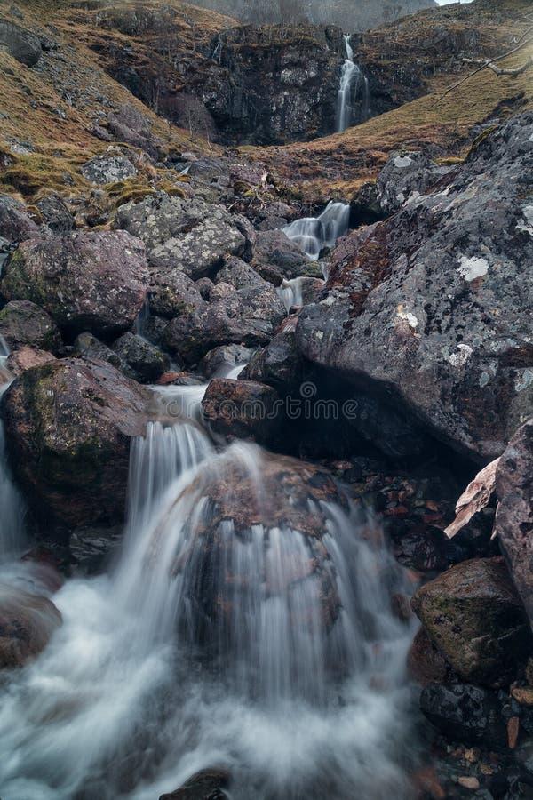 Glencoe Falls. stock photo