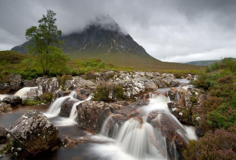 Glencoe landscape, Highlands Scotland stock photos