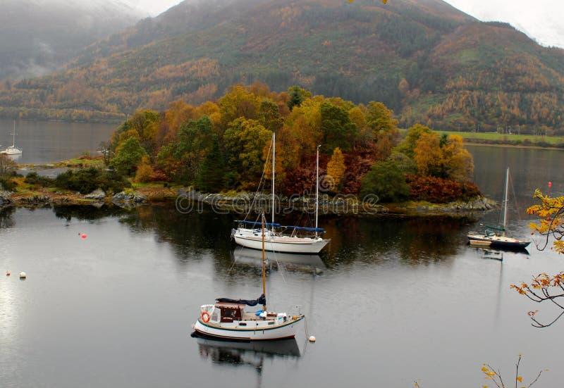 Glencoe, Scozia fotografia stock