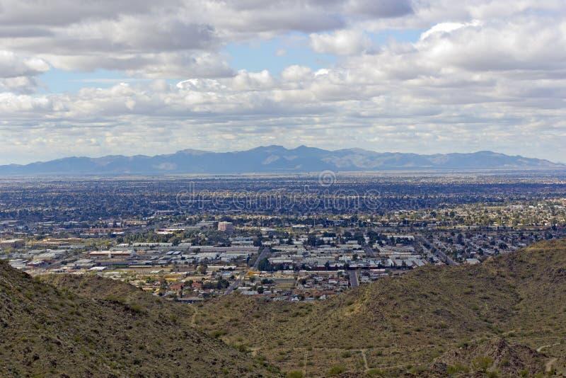 Glendale, Peoria op het Grotere gebied van Phoenix, AZ stock afbeeldingen