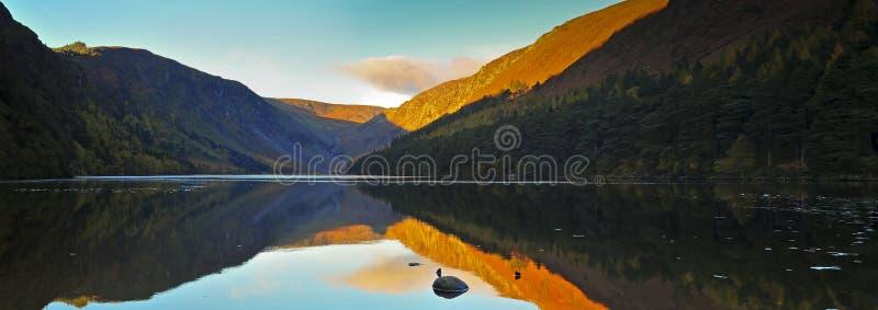 Glendalough royaltyfria foton