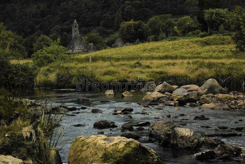 Glendalough стоковая фотография rf