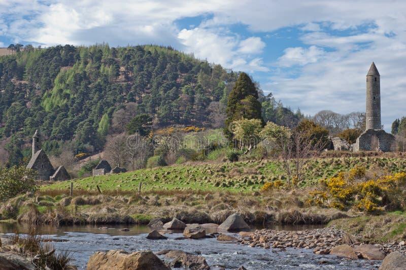 Glendalough fotos de archivo