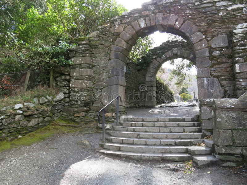 Glendalough stockfotos