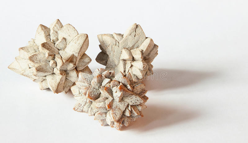Glendonite - rare uncommon minerals stock images