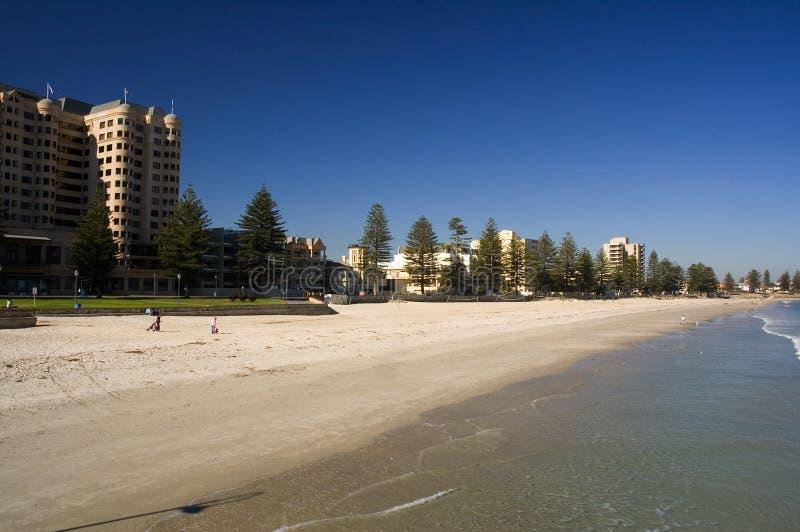 glenelg пляжа стоковое фото rf