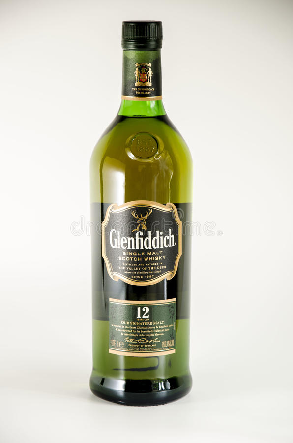 Free Glenfiddich 12 Years Whisky Royalty Free Stock Image - 44353746