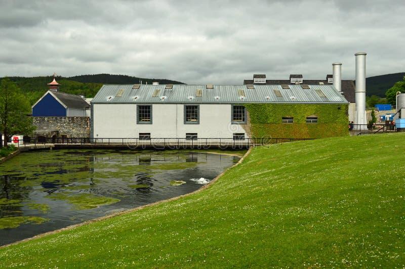 Glenfiddich Distillery Dufftown royalty free stock photo