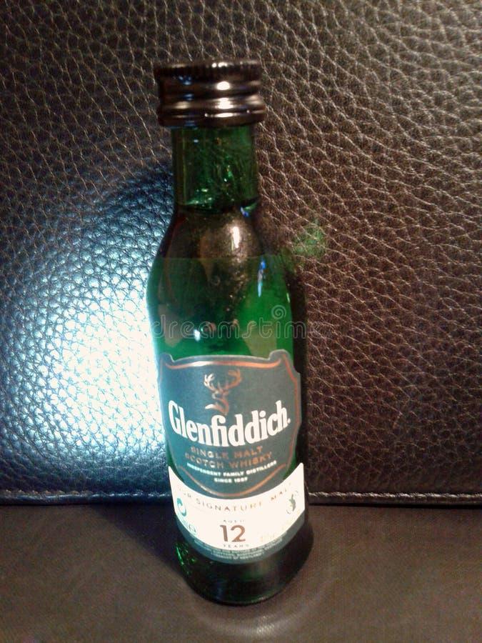 Glenfiddich Nastro scozzese di marca scozzese del whiskey immagini stock