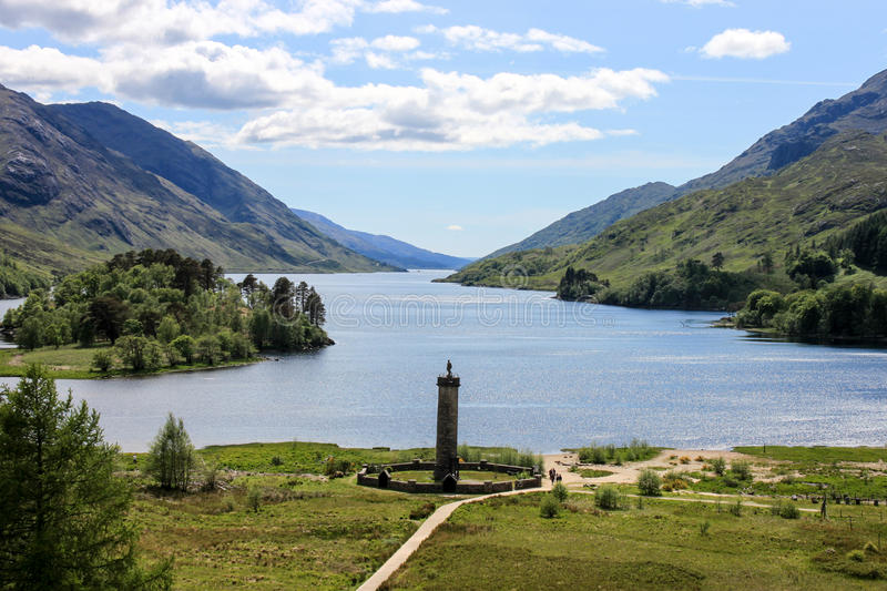Glenfinnan Monument royalty free stock images