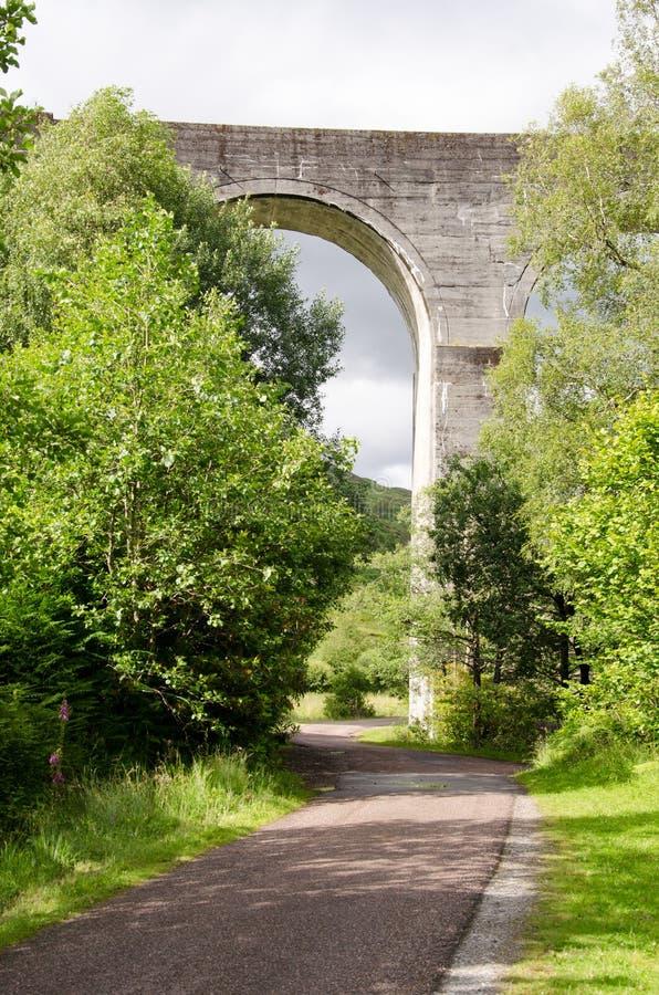 glenfinnan viaduct fotografering för bildbyråer