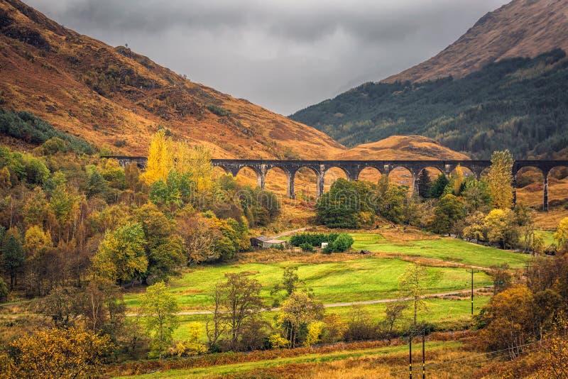 The Glenfinnan Viaduct stock image