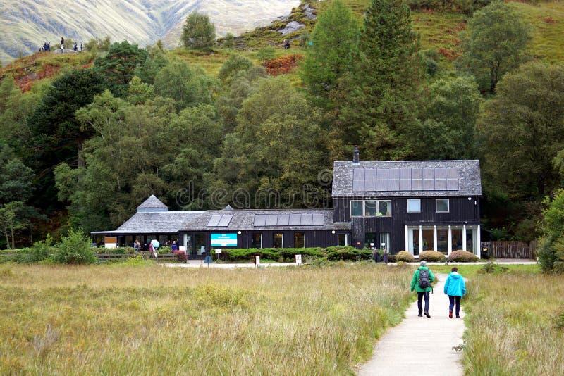 Glenfinnan Visitor Centre stock images