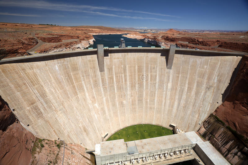 Glenn Canyon Dam royalty free stock image