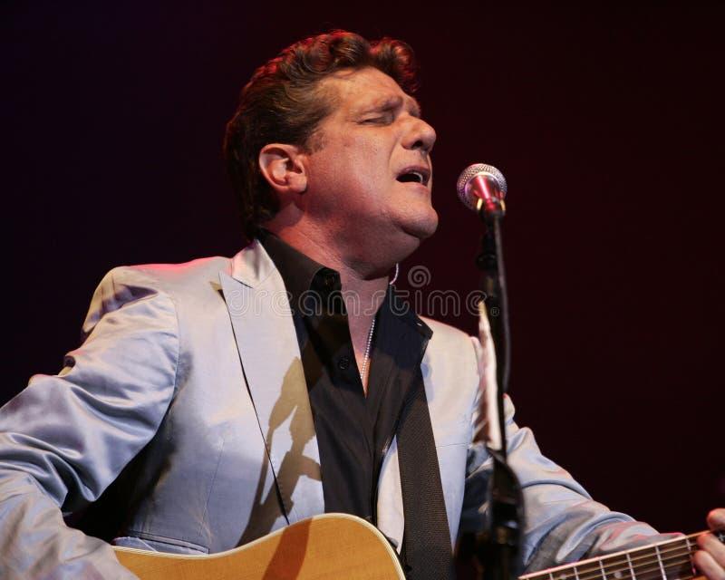 Glenn Frey führt im Konzert durch stockfoto