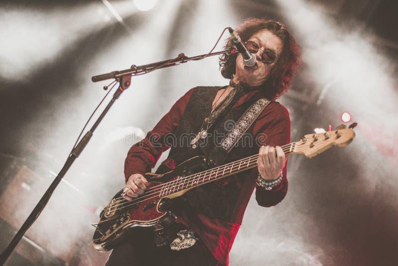 Glenn Hughes vive nel giro di concerto 2017, fotografie stock libere da diritti