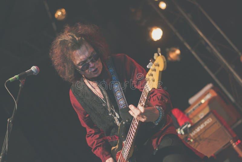 Glenn Hughes vive nel giro di concerto 2017, fotografia stock libera da diritti