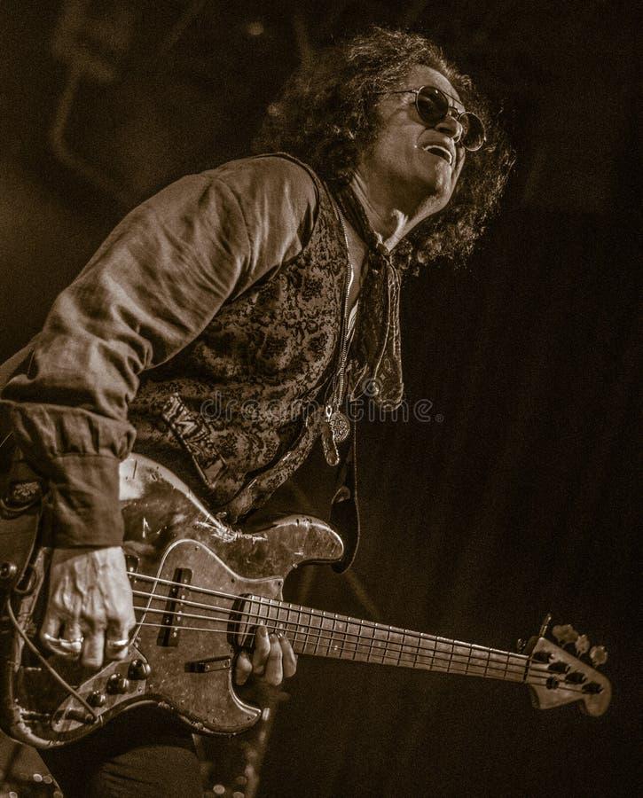 Glenn Hughes vive nel giro di concerto 2017, fotografie stock