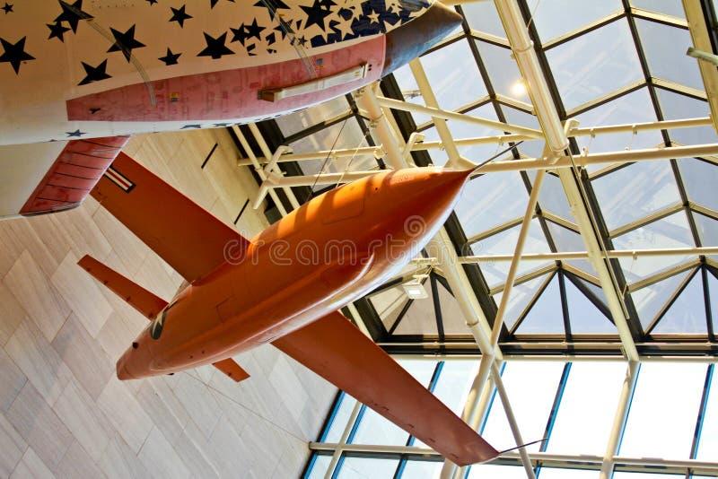 Glennis atractivo, el jet de Chuck Yeager. imagen de archivo libre de regalías