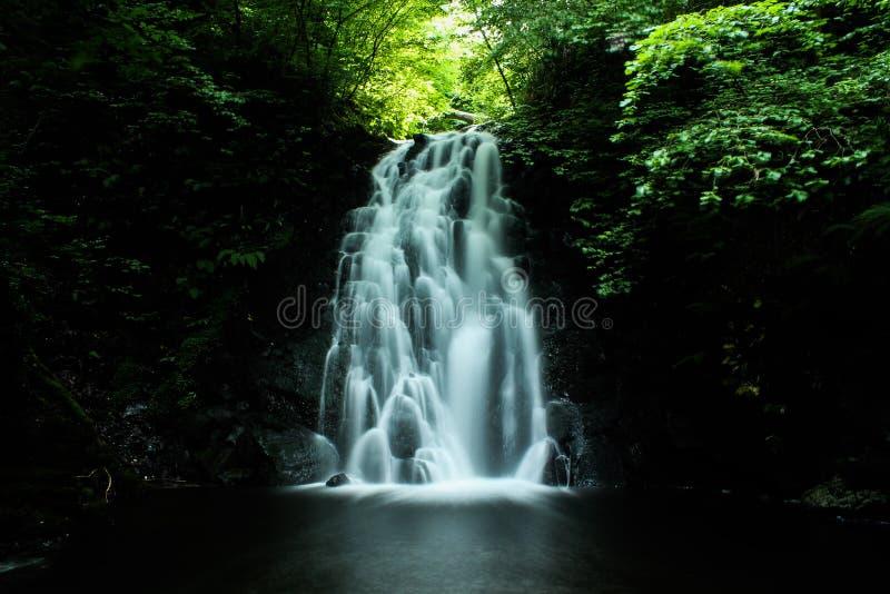 Glenone waterfall stock photos