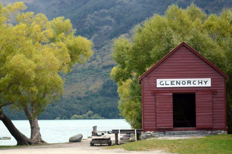 Download Glenorchy - Новая Зеландия NZ NZL Стоковое Изображение - изображение насчитывающей снаружи, пристань: 37927269