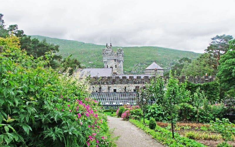 Glenveaghkasteel in Co Donegal Ierland stock fotografie