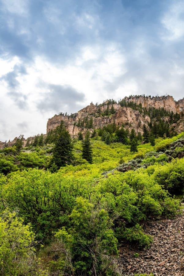 Glenwood峡谷在科罗拉多 库存图片