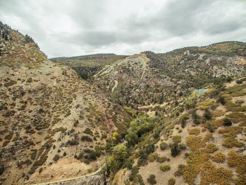 Glenwood峡谷-科罗拉多 免版税库存图片