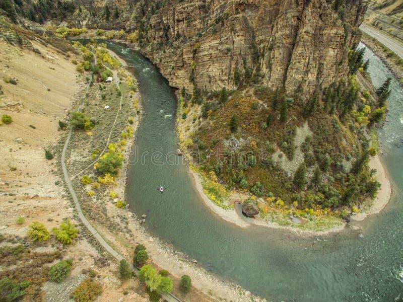 Glenwood峡谷-科罗拉多 免版税库存照片