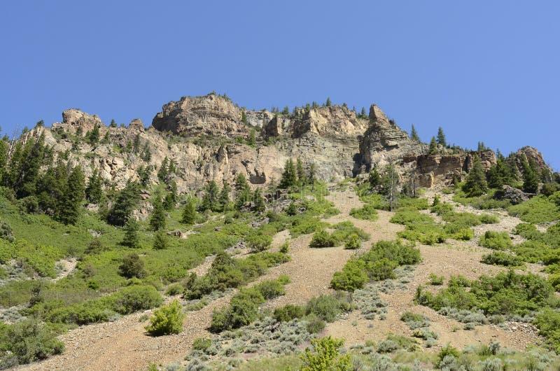 Glenwood Canyon royalty free stock photo