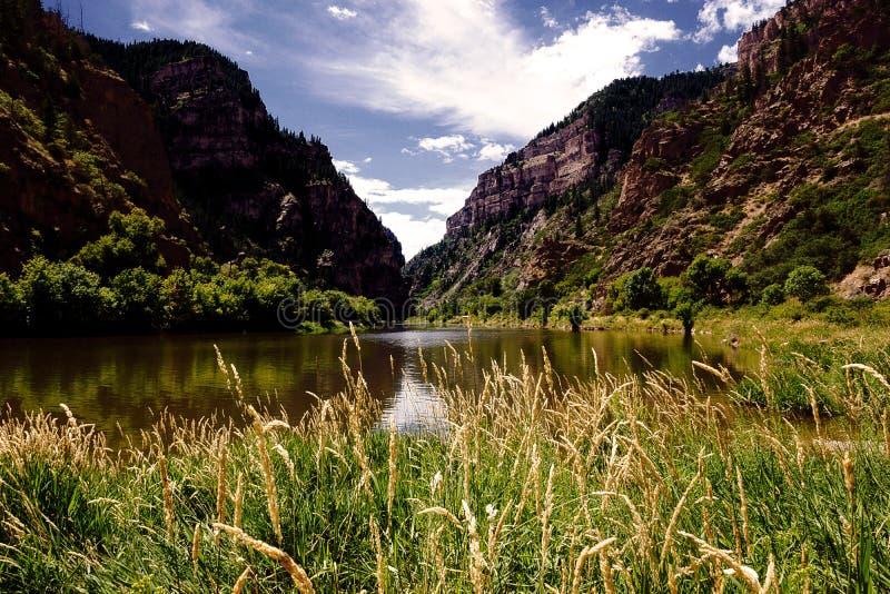 Glenwood Canyon River stock images